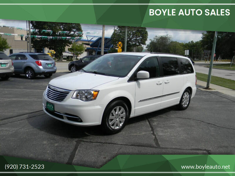 2014 Chrysler Town and Country for sale at Boyle Auto Sales in Appleton WI