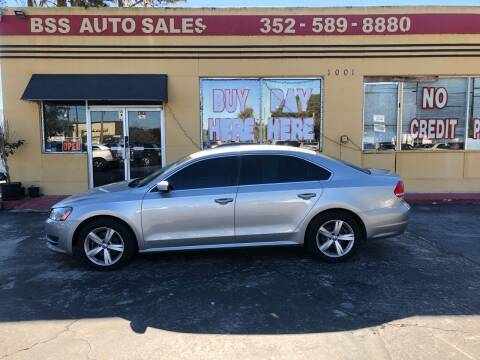 2013 Volkswagen Passat for sale at BSS AUTO SALES INC in Eustis FL
