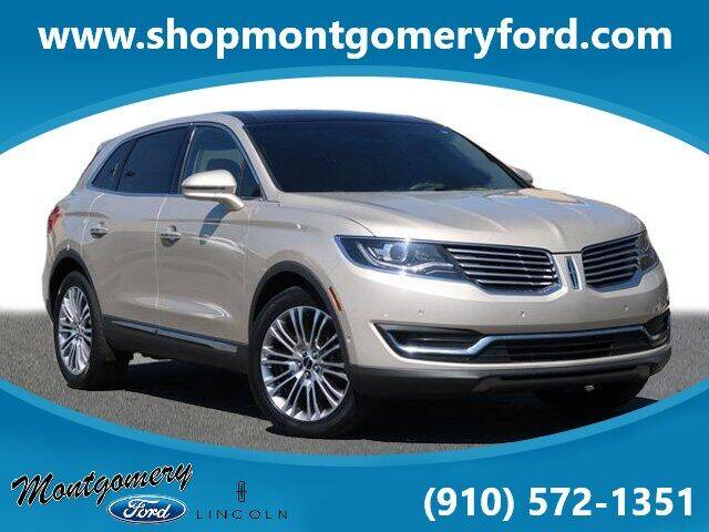 2017 Lincoln MKX for sale in Troy, NC