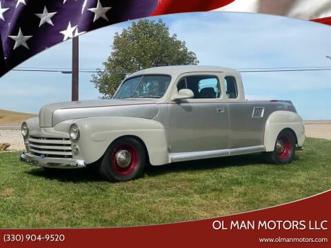 1948 Ford 2 Door Sedan for sale at Ol Man Motors LLC in Louisville OH