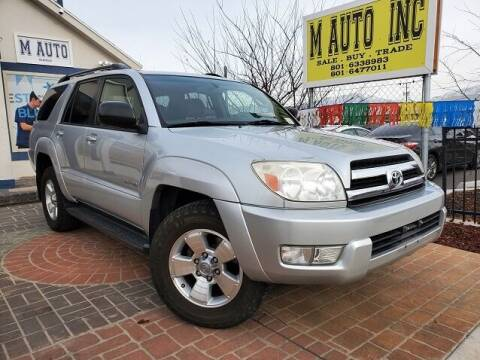2005 Toyota 4Runner for sale at M AUTO, INC in Millcreek UT