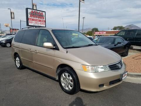 2002 Honda Odyssey for sale at ATLAS MOTORS INC in Salt Lake City UT
