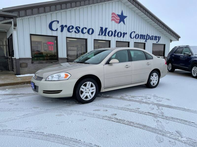 2012 Chevrolet Impala for sale at Cresco Motor Company in Cresco IA