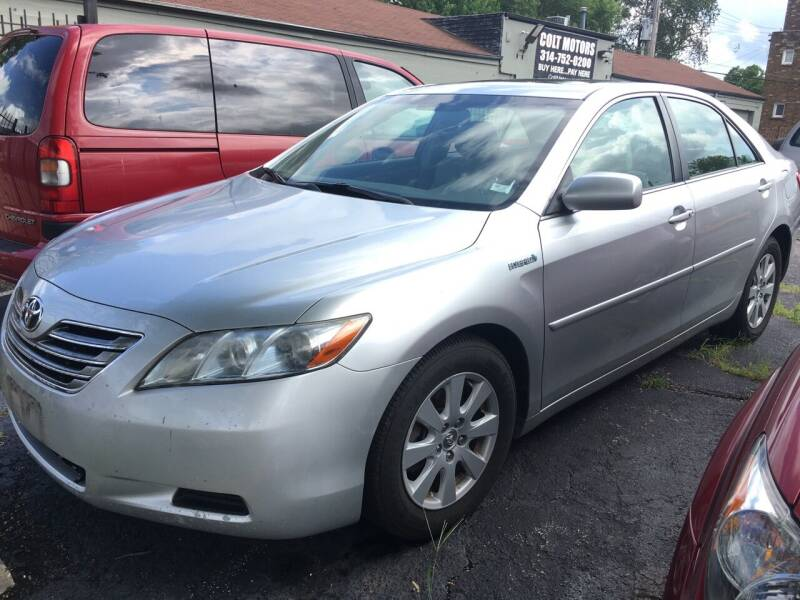 2007 Toyota Camry Hybrid for sale at COLT MOTORS in Saint Louis MO