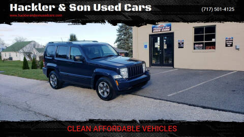 2008 Jeep Liberty for sale at Hackler & Son Used Cars in Red Lion PA