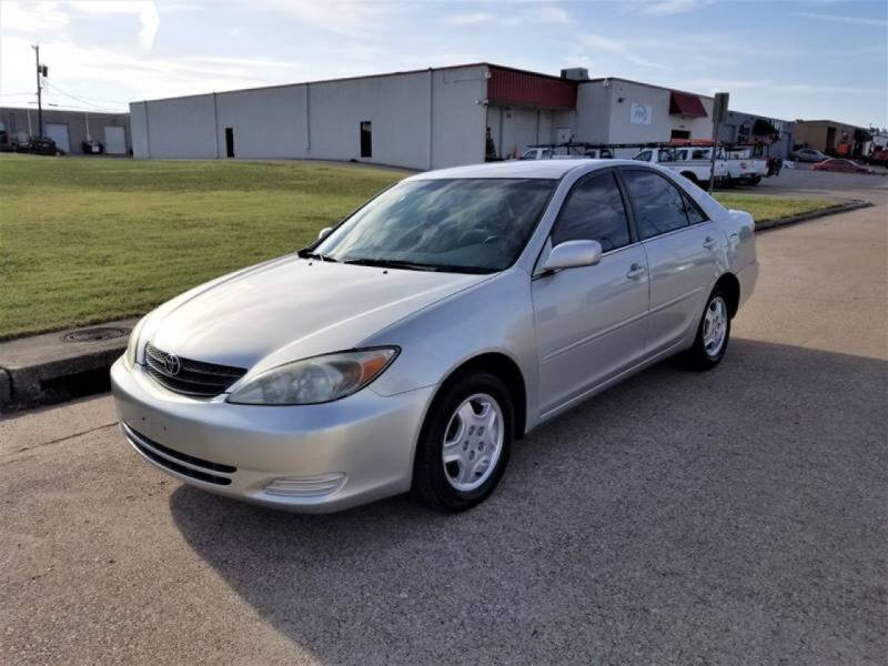 2002 Toyota Camry for sale at Image Auto Sales in Dallas TX
