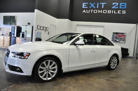 2013 Audi A4 for sale at Exit 28 Auto Center LLC in Cornelius NC