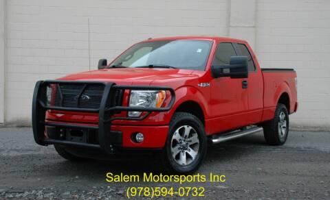 2013 Ford F-150 for sale at Salem Motorsports in Salem MA