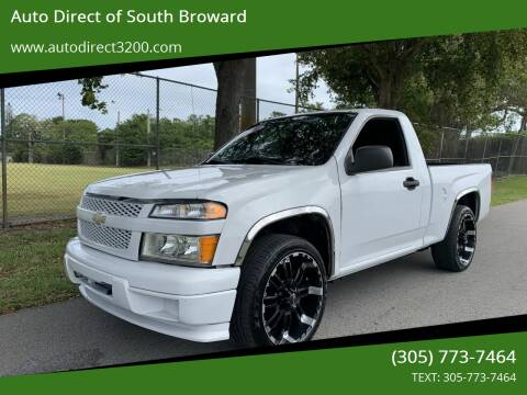 2010 Chevrolet Colorado for sale at Auto Direct of South Broward in Miramar FL