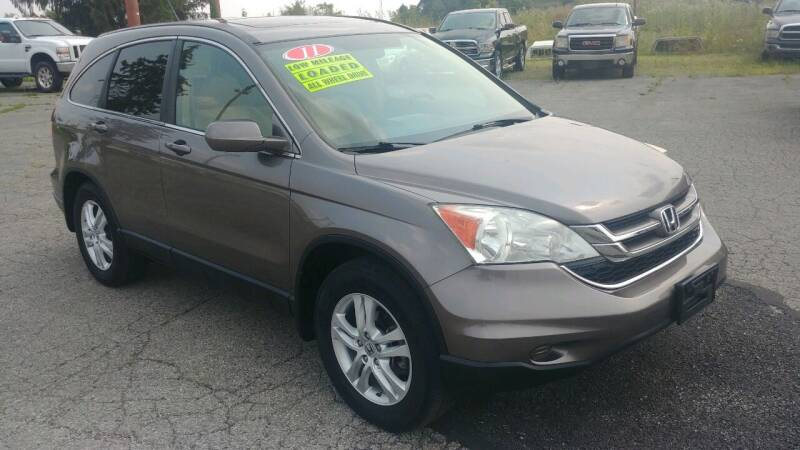 2011 Honda CR-V for sale at AutoBoss PRE-OWNED SALES in Saint Clairsville OH