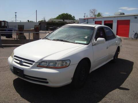 2002 Honda Accord for sale at One Community Auto LLC in Albuquerque NM