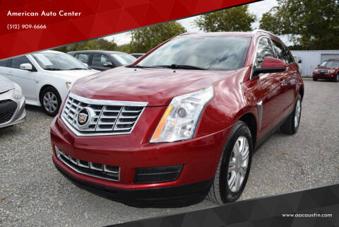 2014 Cadillac SRX for sale at American Auto Center in Austin TX