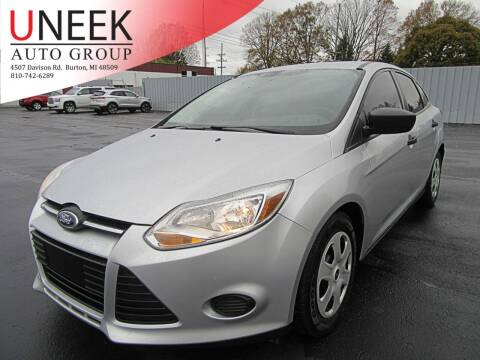 2014 Ford Focus for sale at Uneek Auto Group LLC in Burton MI