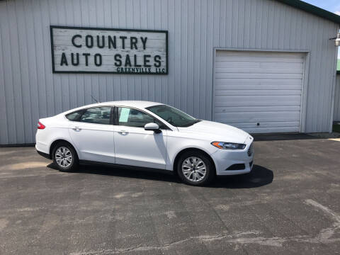 2014 Ford Fusion for sale at COUNTRY AUTO SALES LLC in Greenville OH