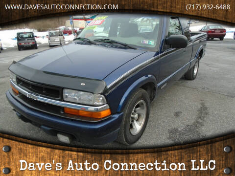 2000 Chevrolet S-10 for sale at Dave's Auto Connection LLC in Etters PA