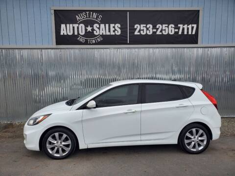 2012 Hyundai Accent for sale at Austin's Auto Sales in Edgewood WA