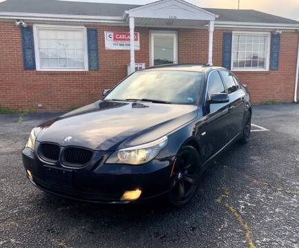 2009 BMW 5 Series for sale at Carland Auto Sales INC. in Portsmouth VA