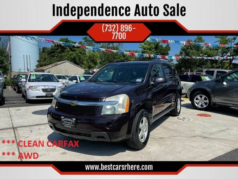 2007 Chevrolet Equinox for sale at Independence Auto Sale in Bordentown NJ