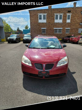 2006 Pontiac G6 for sale at VALLEY IMPORTS LLC in Cincinnati OH