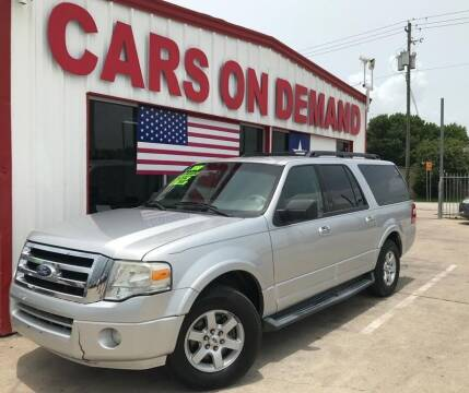 2010 Ford Expedition EL for sale at Cars On Demand 2 in Pasadena TX