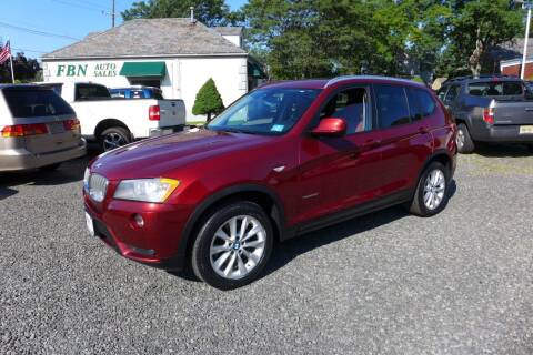 2014 BMW X3 for sale at FBN Auto Sales & Service in Highland Park NJ
