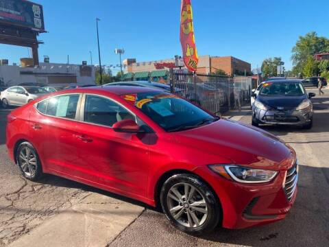 2018 Hyundai Elantra for sale at Sanaa Auto Sales LLC in Denver CO