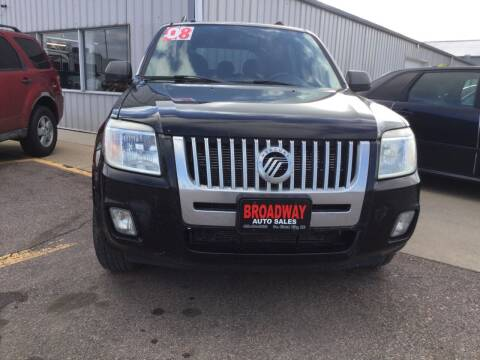 2008 Mercury Mariner for sale at Broadway Auto Sales in South Sioux City NE