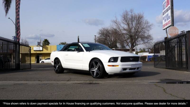 2007 Ford Mustang for sale at Westland Auto Sales in Fresno CA