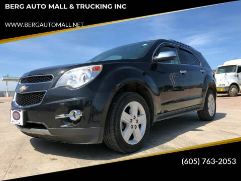 2015 Chevrolet Equinox for sale at BERG AUTO MALL & TRUCKING INC in Beresford SD