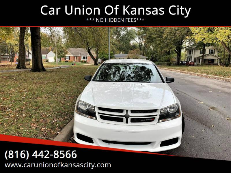 2013 Dodge Avenger for sale at Car Union Of Kansas City in Kansas City MO
