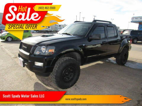 2007 Ford Explorer Sport Trac for sale at Scott Spady Motor Sales LLC in Hastings NE