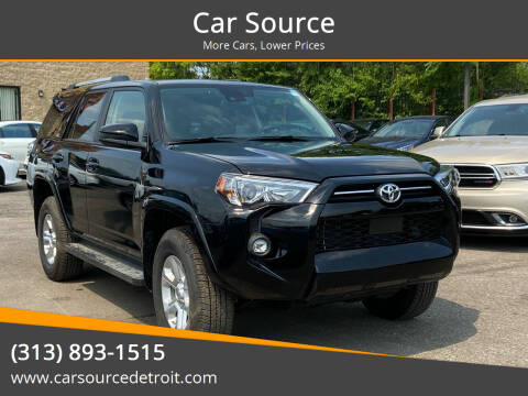 2021 Toyota 4Runner for sale at Car Source in Detroit MI