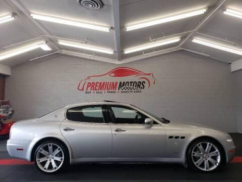 2007 Maserati Quattroporte for sale at Premium Motors in Villa Park IL