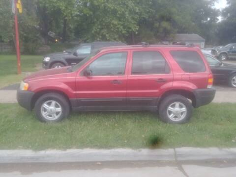 2003 Ford Escape for sale at D & D Auto Sales in Topeka KS