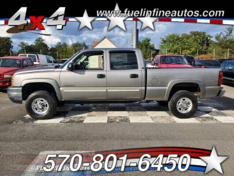 2006 Chevrolet Silverado 2500HD for sale at FUELIN FINE AUTO SALES INC in Saylorsburg PA