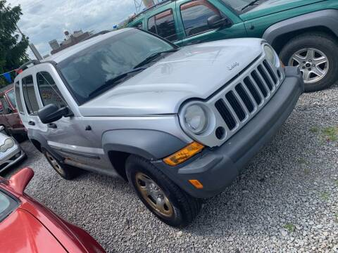 2007 Jeep Liberty for sale at Trocci's Auto Sales in West Pittsburg PA