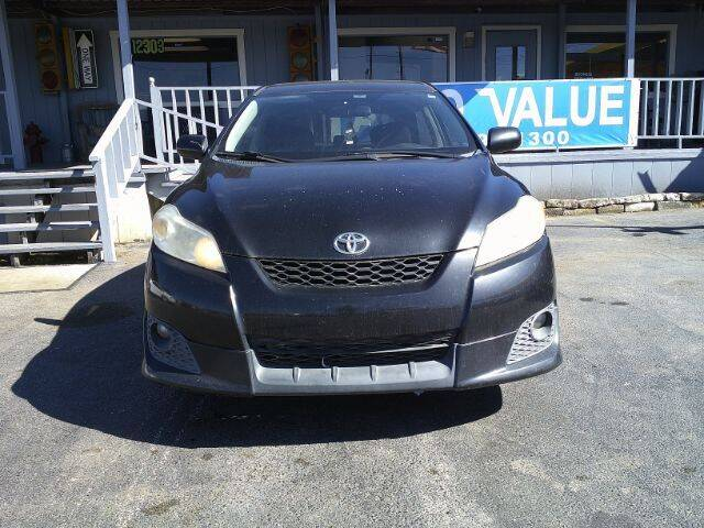 2010 Toyota Matrix for sale at AUTO VALUE FINANCE INC in Stafford TX