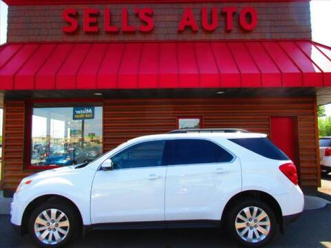 2010 Chevrolet Equinox for sale at Sells Auto INC in Saint Cloud MN