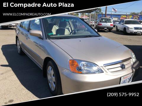 2002 Honda Civic for sale at El Compadre Auto Plaza in Modesto CA