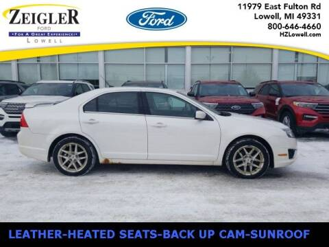 2011 Ford Fusion for sale at Zeigler Ford of Plainwell- Jeff Bishop in Plainwell MI