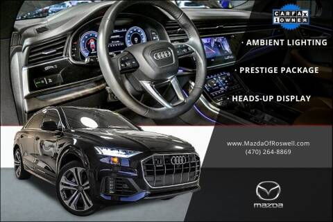 2019 Audi Q8 for sale at Mazda Of Roswell in Roswell GA