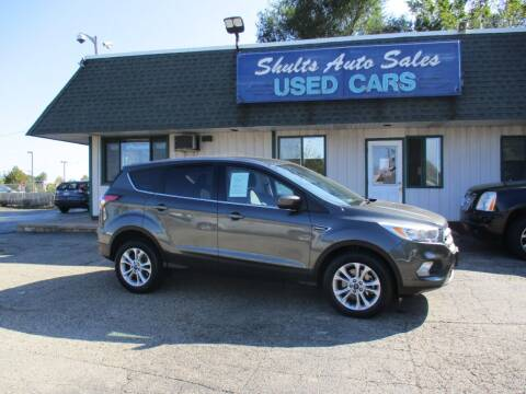 2017 Ford Escape for sale at SHULTS AUTO SALES INC. in Crystal Lake IL