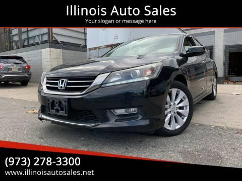 2013 Honda Accord for sale at Illinois Auto Sales in Paterson NJ