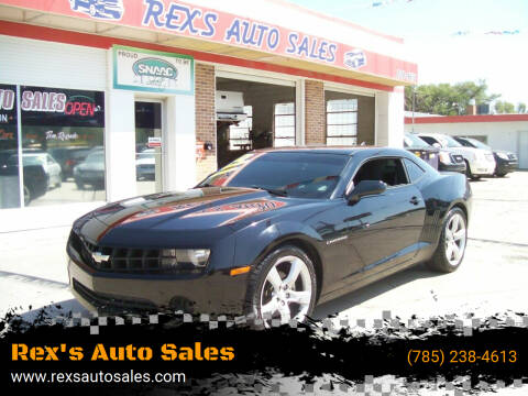 2012 Chevrolet Camaro for sale at Rex's Auto Sales in Junction City KS