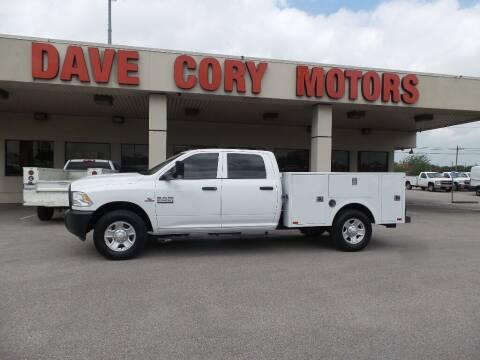 2018 RAM Ram Pickup 2500 for sale at DAVE CORY MOTORS in Houston TX
