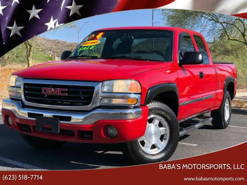 2004 GMC Sierra 1500 for sale at Baba's Motorsports, LLC in Phoenix AZ