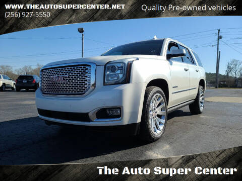 2015 GMC Yukon for sale at The Auto Super Center in Centre AL
