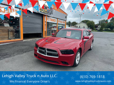 2013 Dodge Charger for sale at Lehigh Valley Truck n Auto LLC. in Schnecksville PA