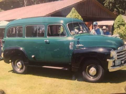 1954 GMC Suburban for sale at Classic Car Deals in Cadillac MI