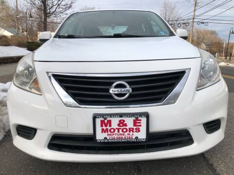 2013 Nissan Versa for sale at M & E Motors in Neptune NJ